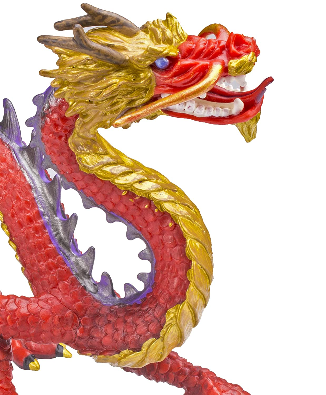 Safari Ltd Horned Chinese Dragon 10135