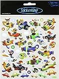 Multi-Colored Stickers-Airplanes (SK129MC-4273)