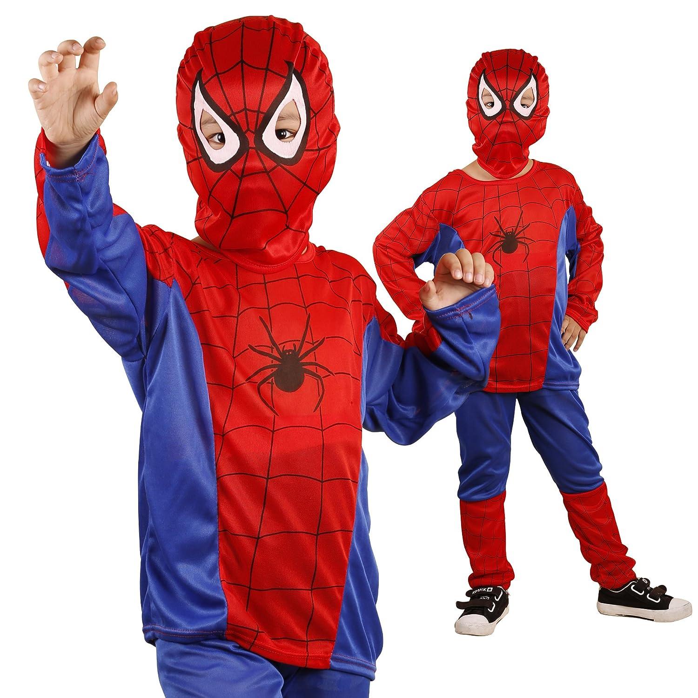 Halloween of me Kids Spiderman Costume L 125cm c81 (japan import)