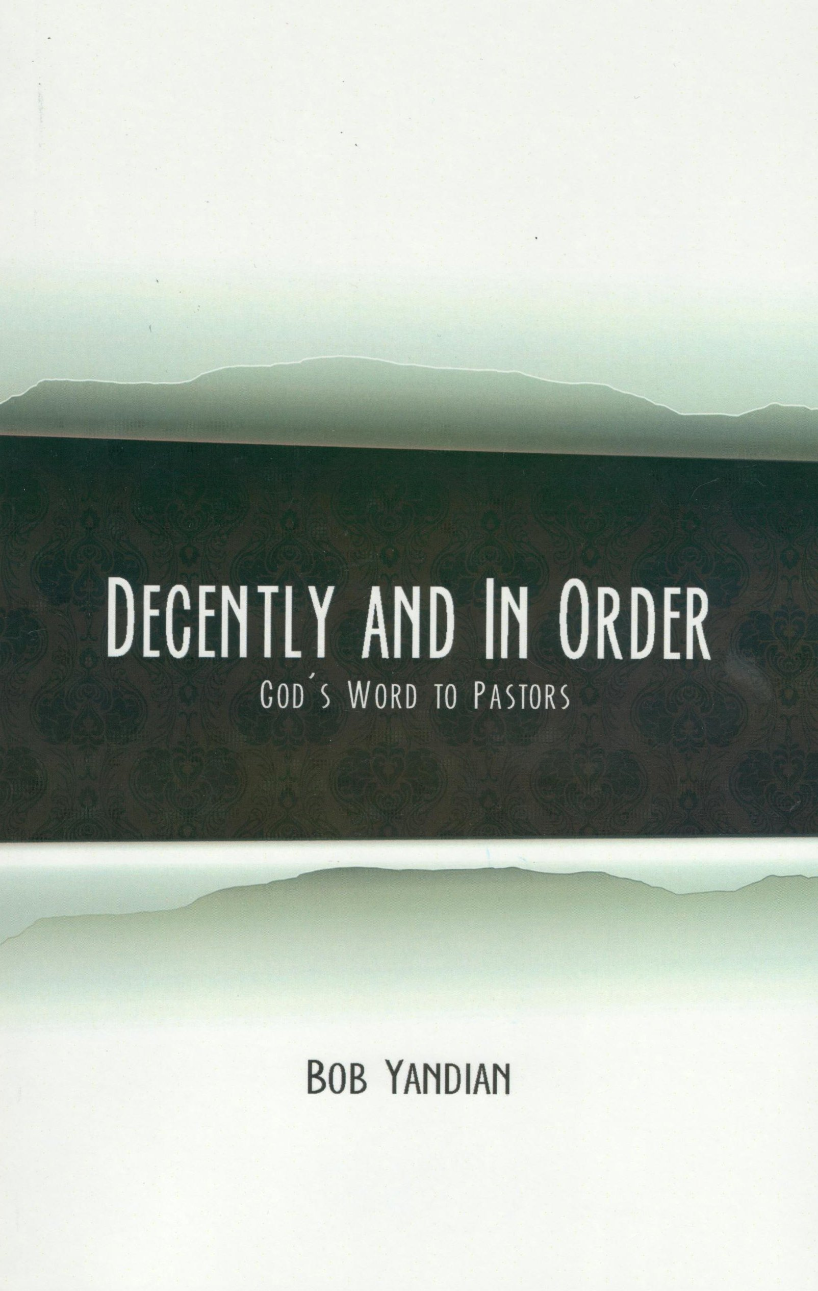 Read Online Decently and in Order: God's Word to Pastors pdf