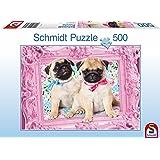 Schmidt - 57358 - Puzzle Classique - Carlin & Carline - 500 Pièces
