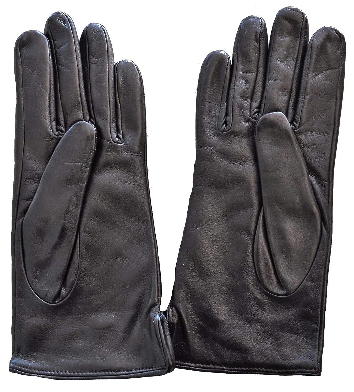 Aquascutum Guanti Donna Marrone Club Check Gloves Dark Brown S