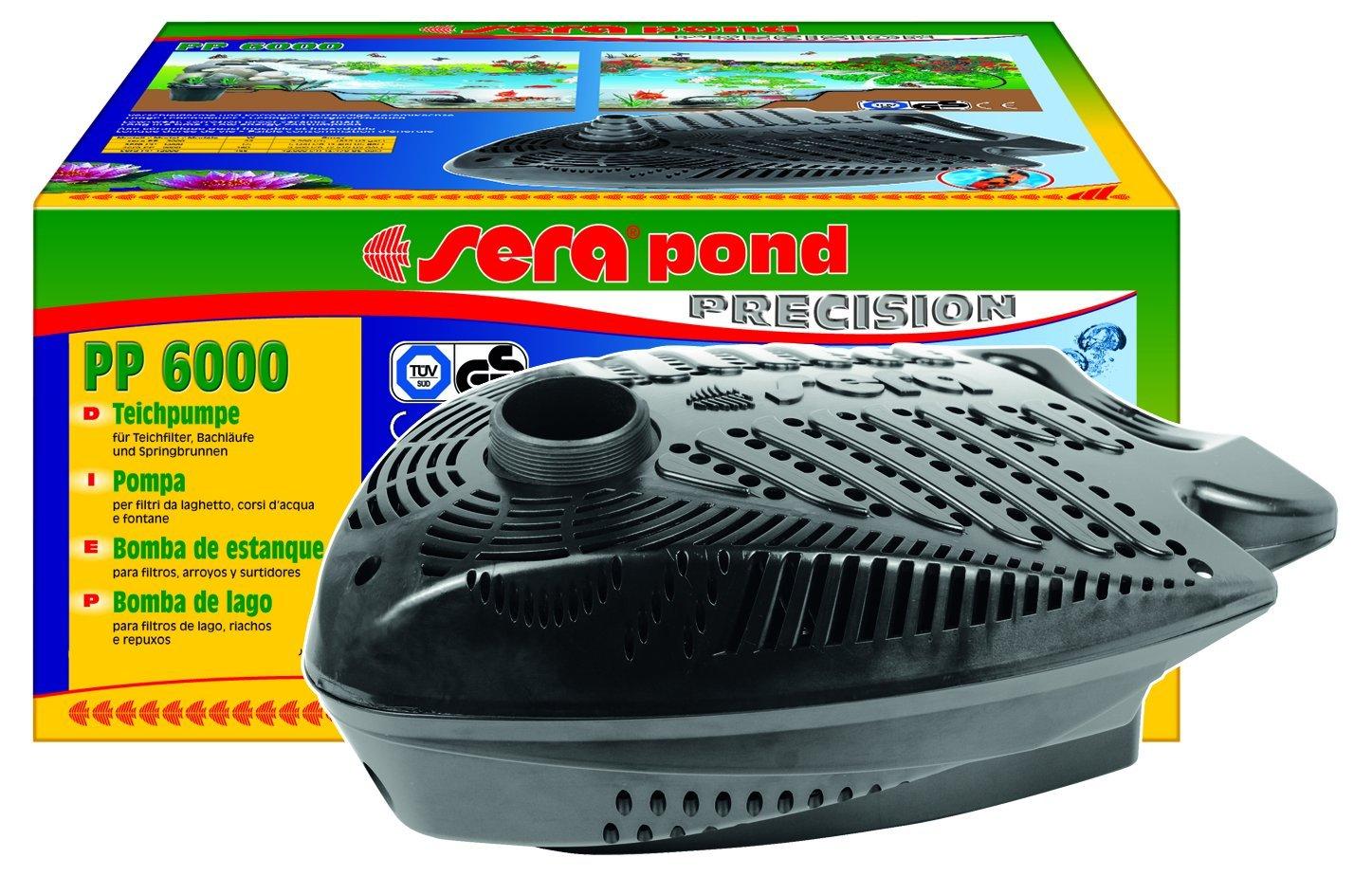sera Pond PP 3000 Filter- und Bachlaufpumpe 8m) 80403
