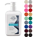 (Silver Blue) - Keracolor Colour + Clenditioner (Silver Blue), 350ml