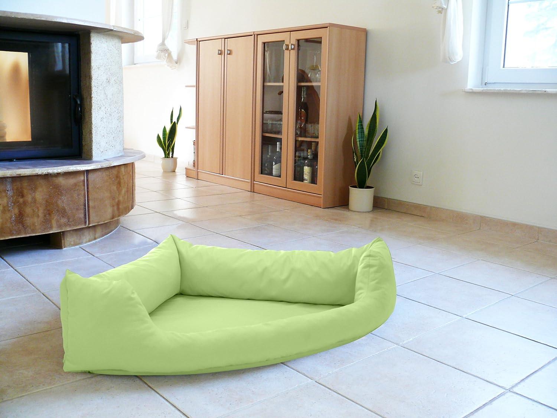 Cuscino Artur Soja Rex Cuccia Letto Piazza in Eco Pelle XXL 100/X 140/Colore Verde Cani Divano