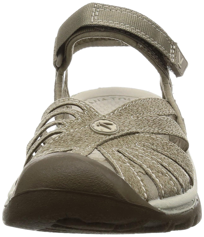 KEEN Women's Rose Sandal B01H8G9AF4 7.5 B(M) US|Brindle/Shitake