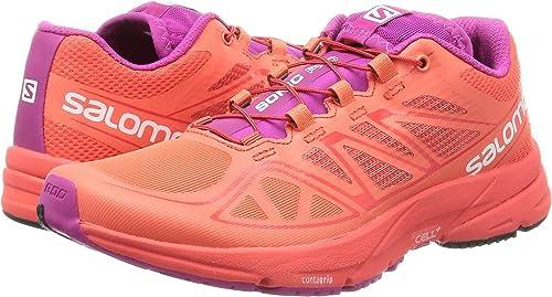 Salomon L39031500, Zapatillas de Trail Running para Mujer, Naranja ...
