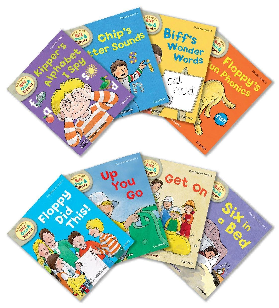 Oxford reading tree read with biff chip and kipper level 1 pack oxford reading tree read with biff chip and kipper level 1 pack of 8 roderick hunt mr alex brychta mr nick schon kate ruttle ms annemarie young fandeluxe Choice Image