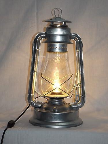 Bright galvanized champion electric lantern table lamp bright galvanized champion electric lantern table lamp railroad lantern amazon aloadofball Images