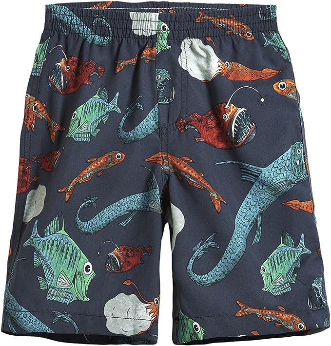 Cargo Bay Boys Swim Shorts with Contrast Stitching