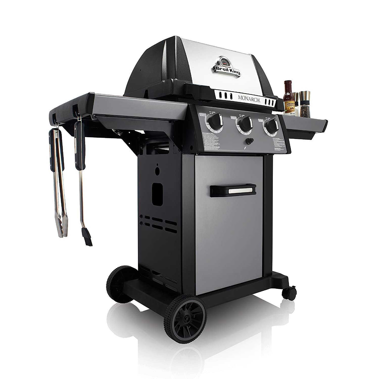 Amazon.com : Broil King 931257 Monarch 320 Natural Gas Grill : Garden & Outdoor