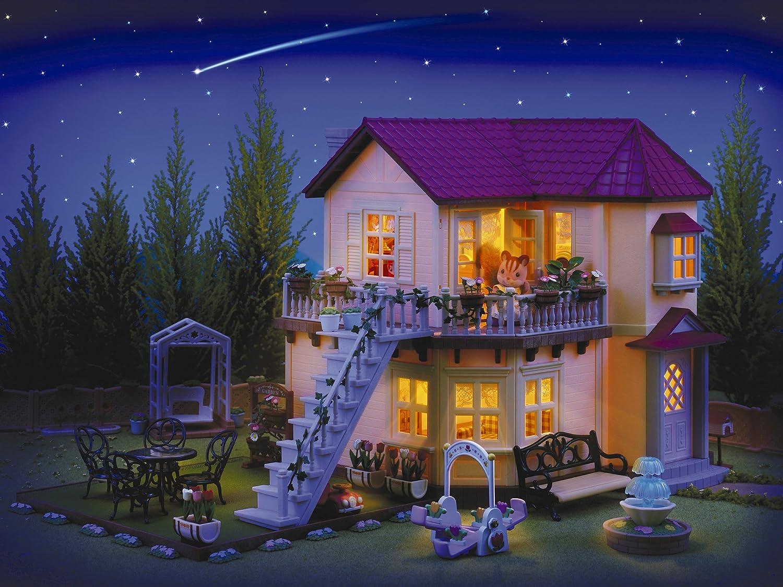 SYLVANIAN FAMILIES- City House with Lights Casa de Mini Muñecas y ...