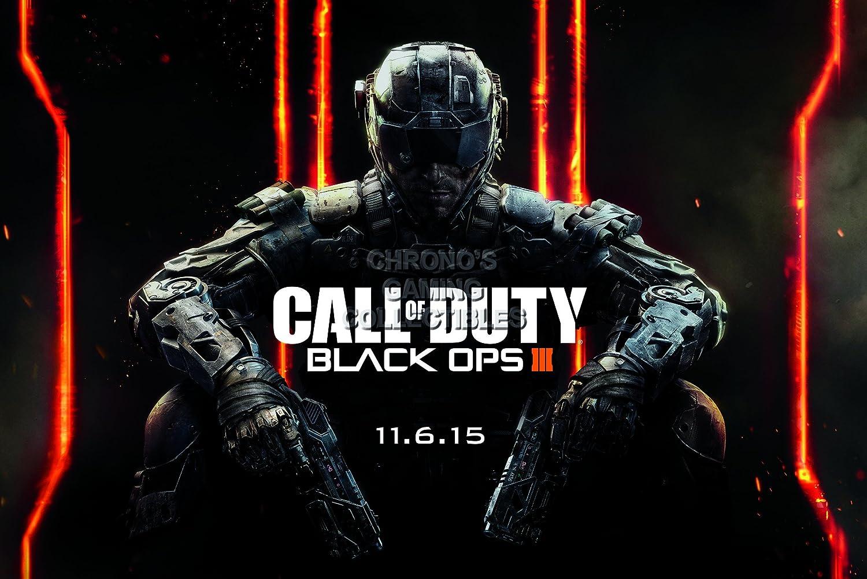Amazon.com: PremiumPrintsG - Call of Duty Black ops III PS3 ...