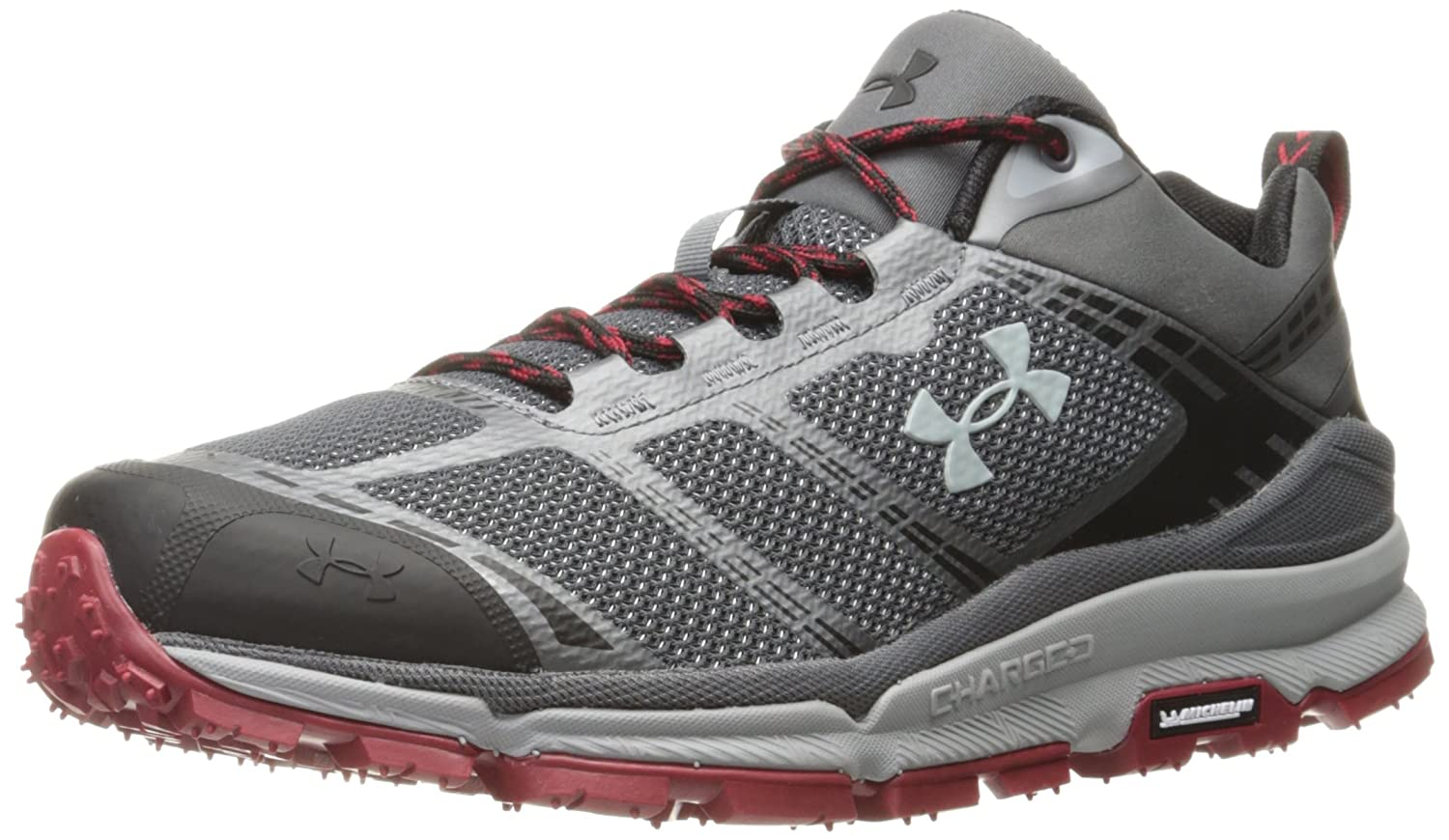 Under Armour Men's Verge Low Hiking Boot B01MR71FR3 Gray 11.5 M US|Graphite (040)/Overcast Gray B01MR71FR3 0eba37