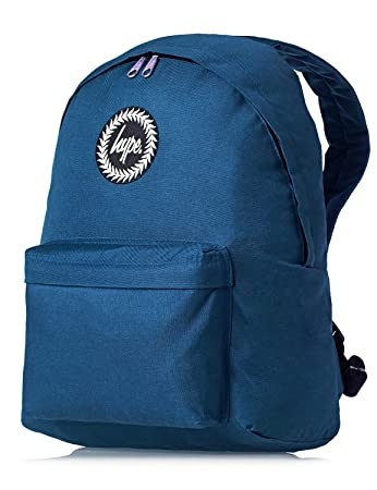 HYPE Backpack Bags Rucksack - Women Men Plain Backpacks - Airforce Blue   Amazon.in  Bags b4cfec5a91082