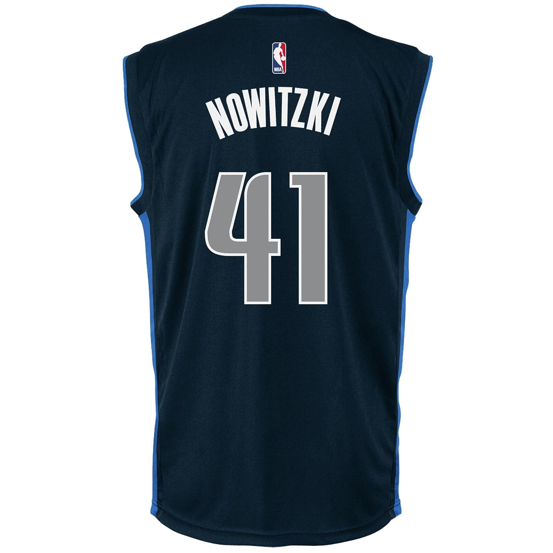 reputable site ab3a7 7af9b NBA Dallas Mavericks Dirk Nowitzki #41 Men's Replica Jersey ...