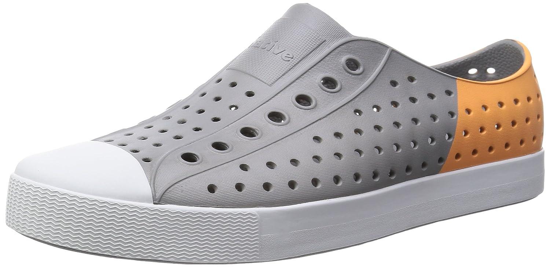 native Unisex Jefferson Fashion Sneaker B00L5LOGAI 8 M US|Pigeon Grey / Lazer Orange