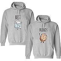 Daisy for U Mejor Amigo suéter, Mejor Amigo para Dos niñas Sudadera con Capucha BFF suéter Hermana Sudadera con Capucha…