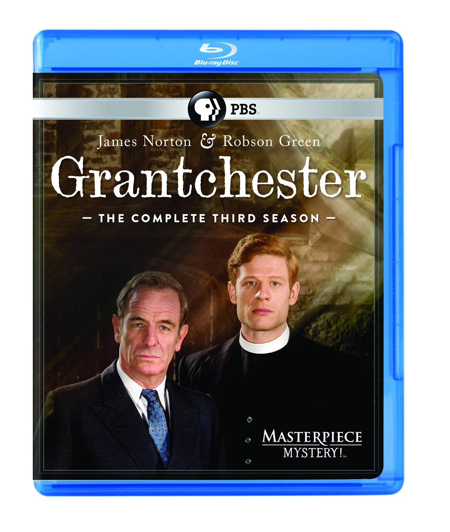 Blu-ray : Grantchester: The Complete Third Season (Masterpiece Mystery!) (3 Disc)