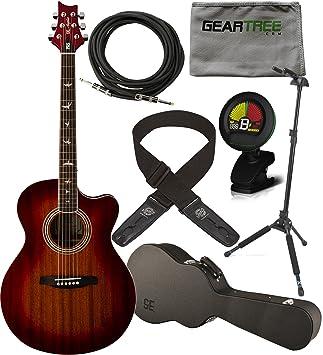 PRS SE Angelus A10E acústica guitarra eléctrica () W/de ...