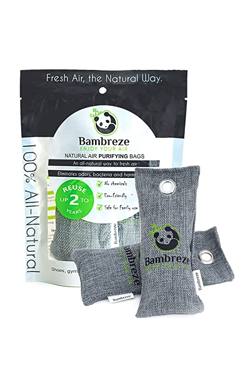 Bambreze Bolsas purificadoras de Aire Natural, Desodorante ...