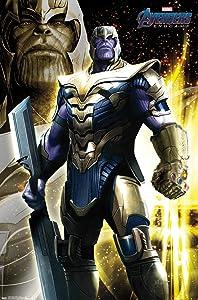 "Trends International Marvel Cinematic Universe - Avengers - Endgame - Thanos Wall Poster, 22.375"" x 34"", Unframed Version"