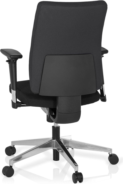Office Chair/Swivel Chair PRO-TEC 350 Fabric Black hjh OFFICE Black