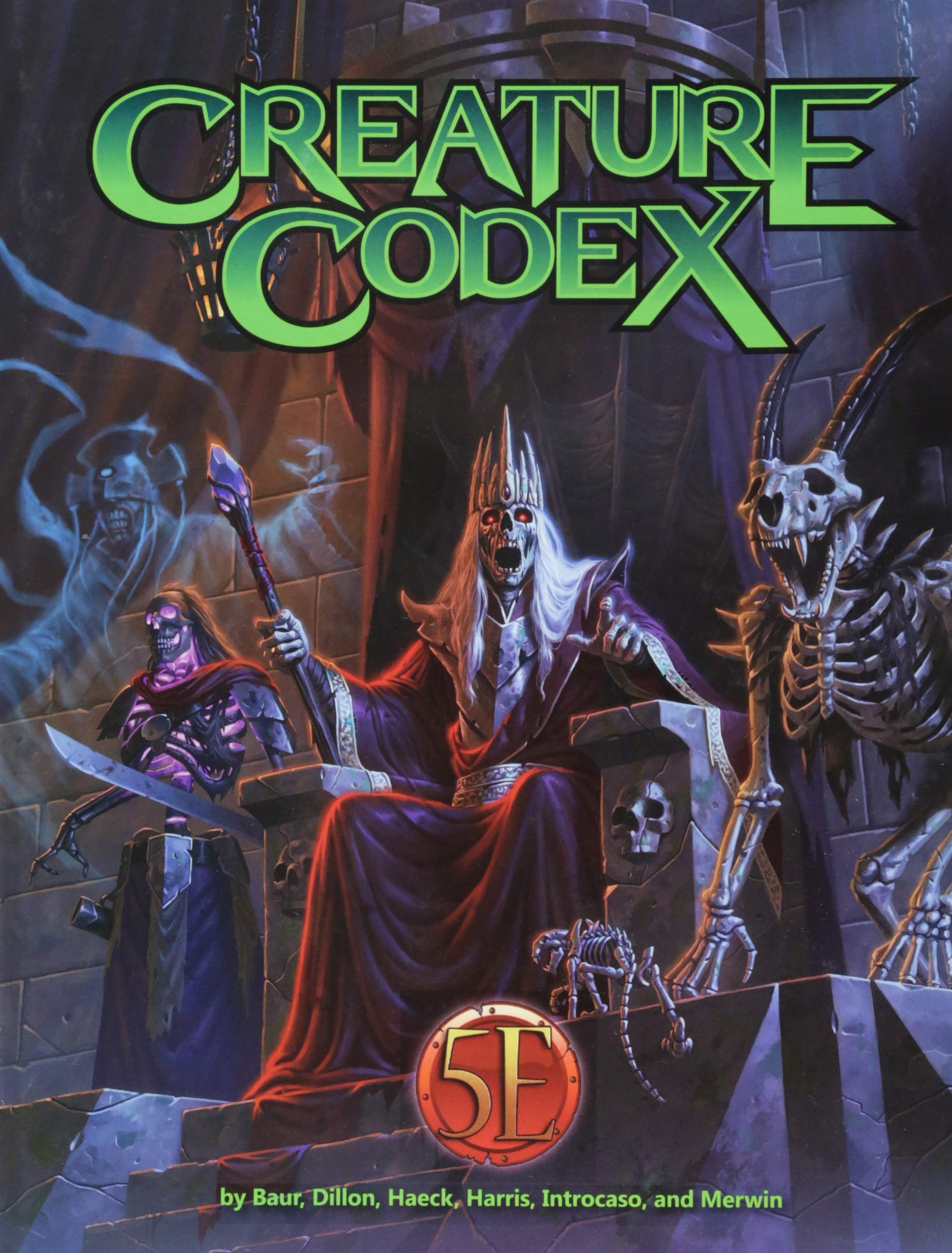 Creature Codex: Wolfgang Baur, Dan Dillon, Richard Green
