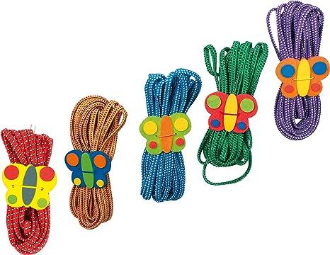 1814 Elastico Per Saltare Farfalla Small Foot Promuove Coordinazione Destrezza E Movimento Set Per I 5 Anni In Su Da 5 Anni In Poi Amazon It Giochi E Giocattoli