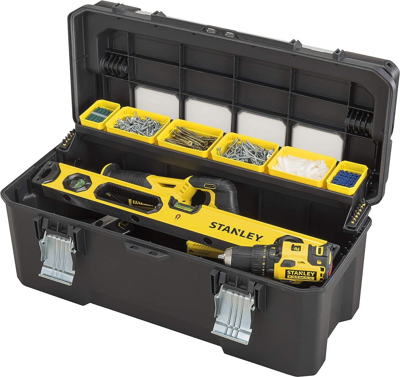 STANLEY FATMAX FMST1-75791 - Caja de herramientas Pro con organizadores: Amazon.es: Bricolaje y herramientas