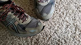 20 miles in, they began to fall apart - i love asics shoes, but not these