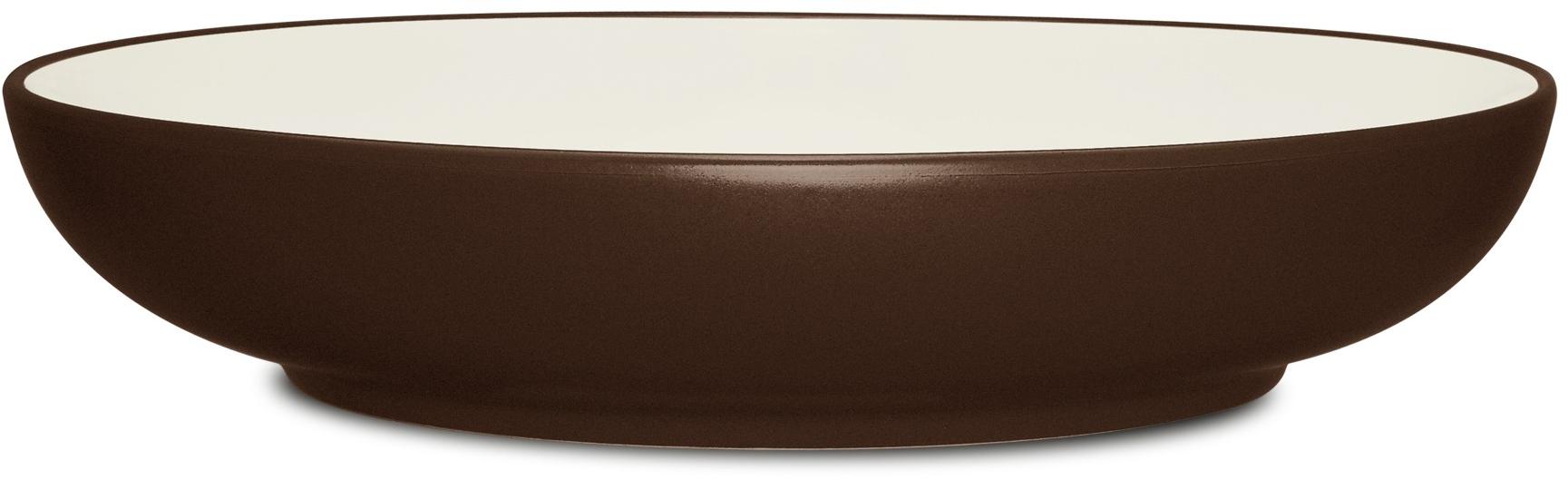 """Noritake Colorwave Chocolate Bowl—Pasta Serving, 12"""", 89 1/2 oz."""