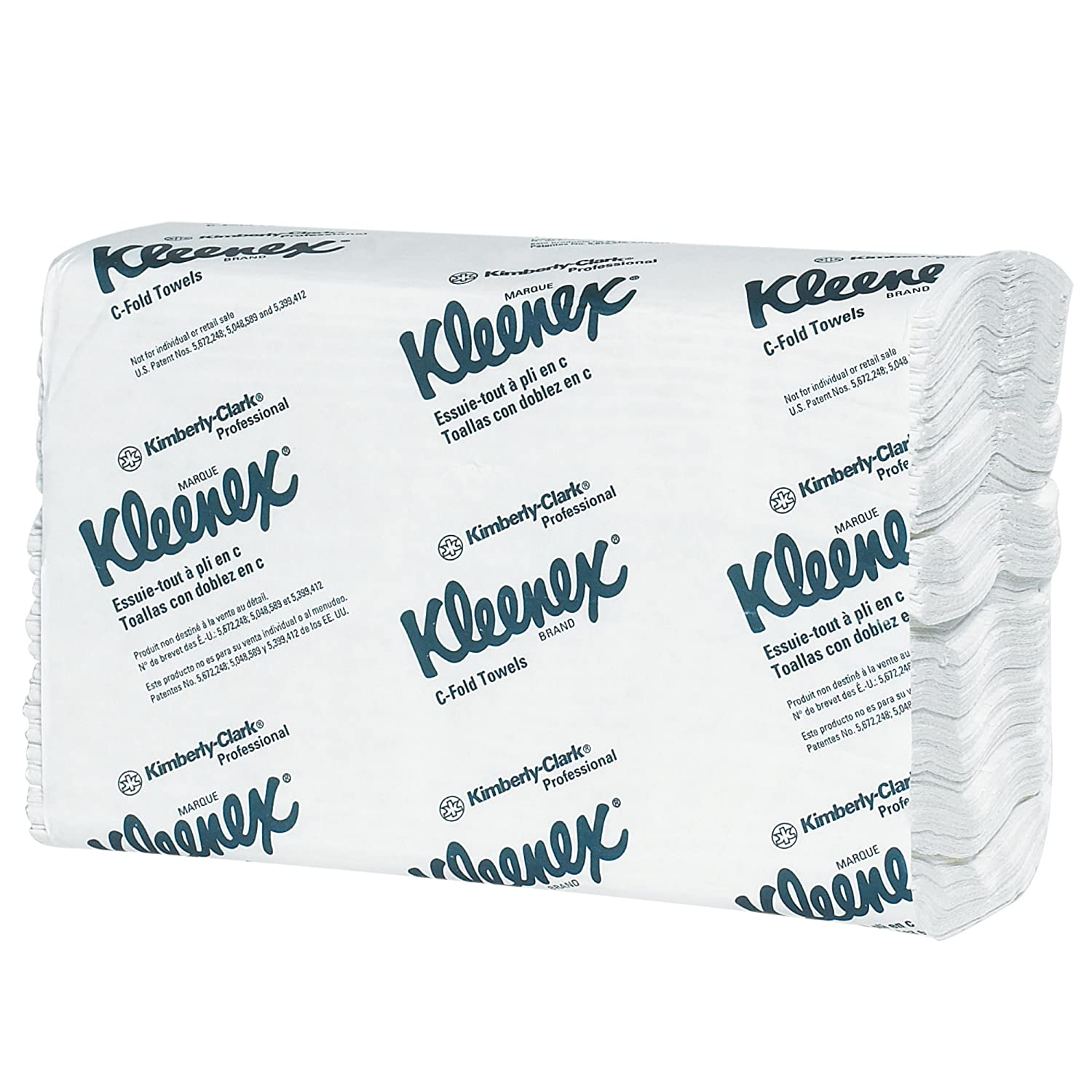 Amazon.com: Boxes Fast BFTTWCFK Kleenex White C-Fold Towels, White (Pack of 16): Industrial & Scientific