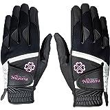 LEZAX(レザックス) Nicotera 当て布付で抜群の耐久性 レディス用両手用合成皮革手袋