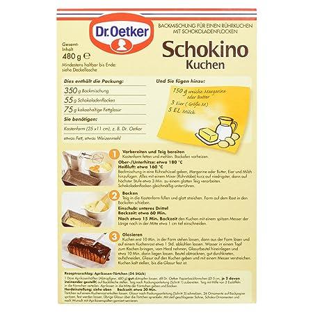 Dr Oetker Schokino Kuchen 480 G Amazon De Amazon Pantry
