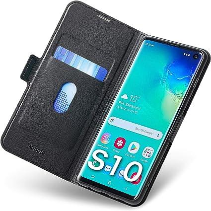 Funda Samsung Galaxy S10, Fundas Samsung S10 Libro, S10 Funda ...
