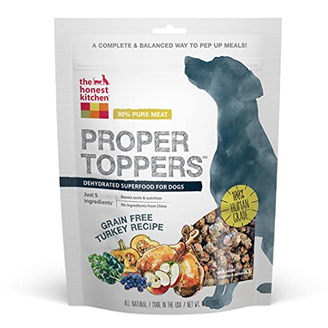 Awesome The Honest Kitchen Proper Toppers: Natural Human Grade Dehydrated Dog  Superfood, Grain Free Turkey Good Ideas