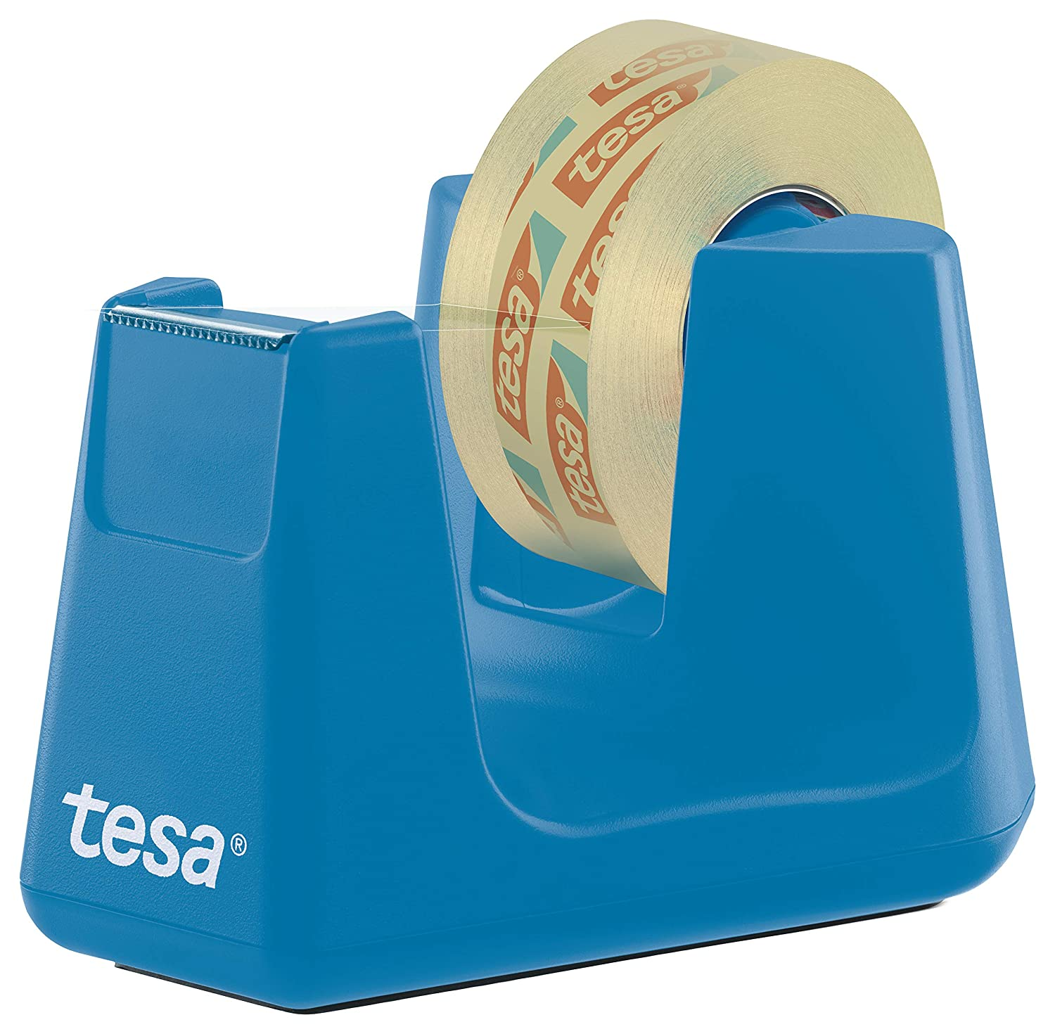 tesa 53908 Dispensador de Cinta Easy Cut Professional para Escritorio-ergonómico, Muy Estable, Disponible en Varios Colores, Azul, 33m:19mm: Amazon.es: ...