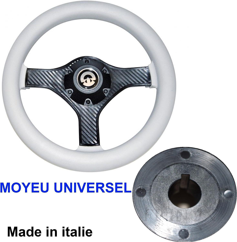 FP Stainless Steel Steering Wheel Diameter 280 mm Central Hub Cone Universal Boat