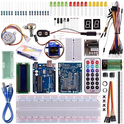 4 opinioni per Kuman K11 Starter Learning Kit Kits Board Super Projectors with UNO R3 LCD Servo