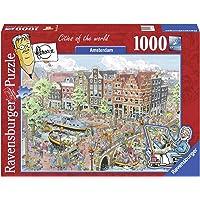 Ravensburger Amsterdam Karikatür 1000 Parçalı 191925