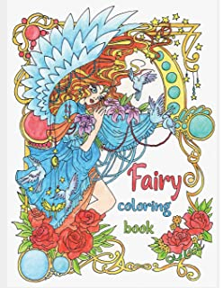 Magical Elves Coloring Book For Adults Coloring Books For Adults