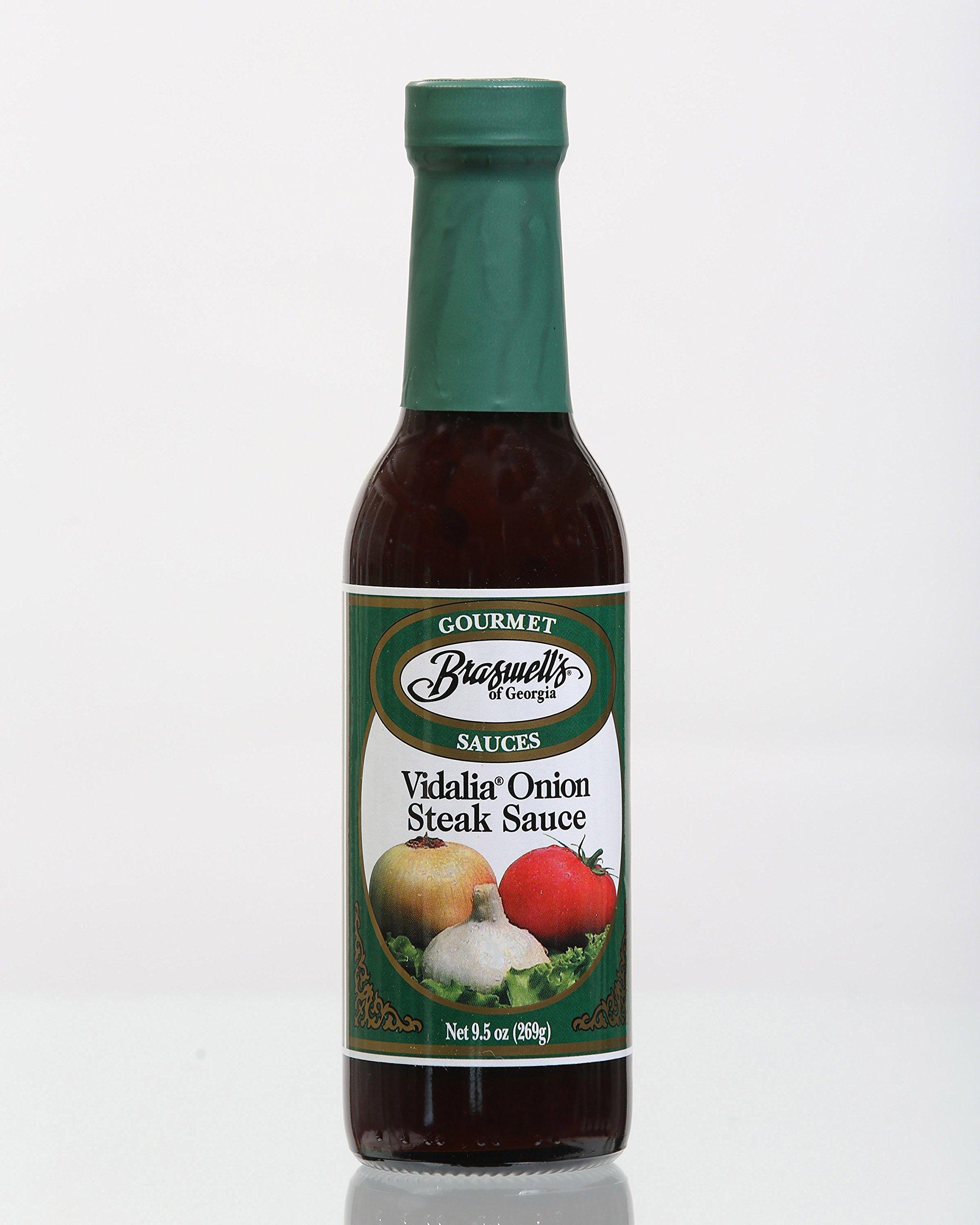 Braswell Vidalia Steak Sauce, 9.5 Ounce (Pack of 6)