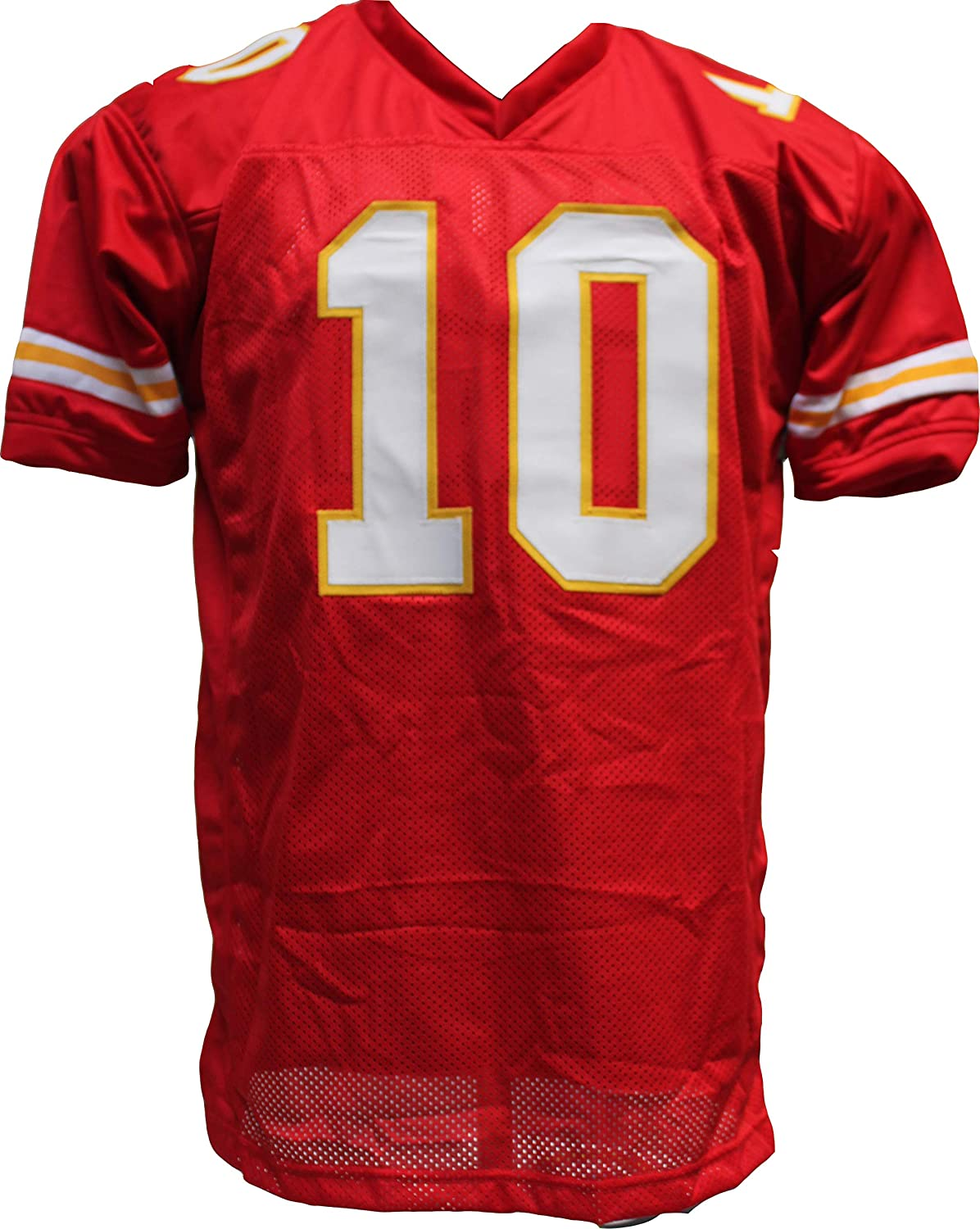 Tyreek Hill Signed Autograph Red Custom Jersey