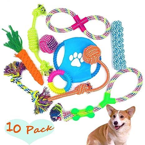 51084276cb7c84 FIRIK Giocattolo per Cani Cucciolo Giocattoli da Masticare Giocattoli della  Corda del Cane Colore Corda Durevole
