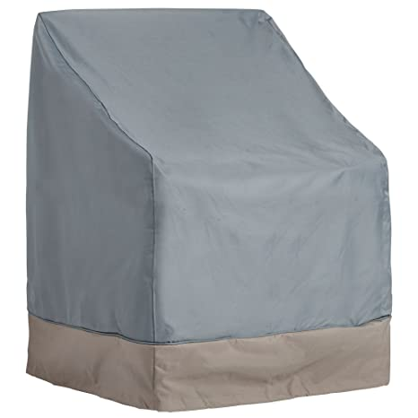 VonHaus Single Patio Chair Cover   U0027The Storm Collectionu0027 Premium Heavy  Duty Waterproof Outdoor