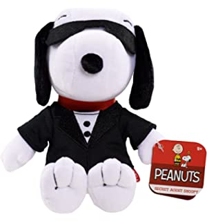 Peanuts Snoopy Secret Agent Bean Plush