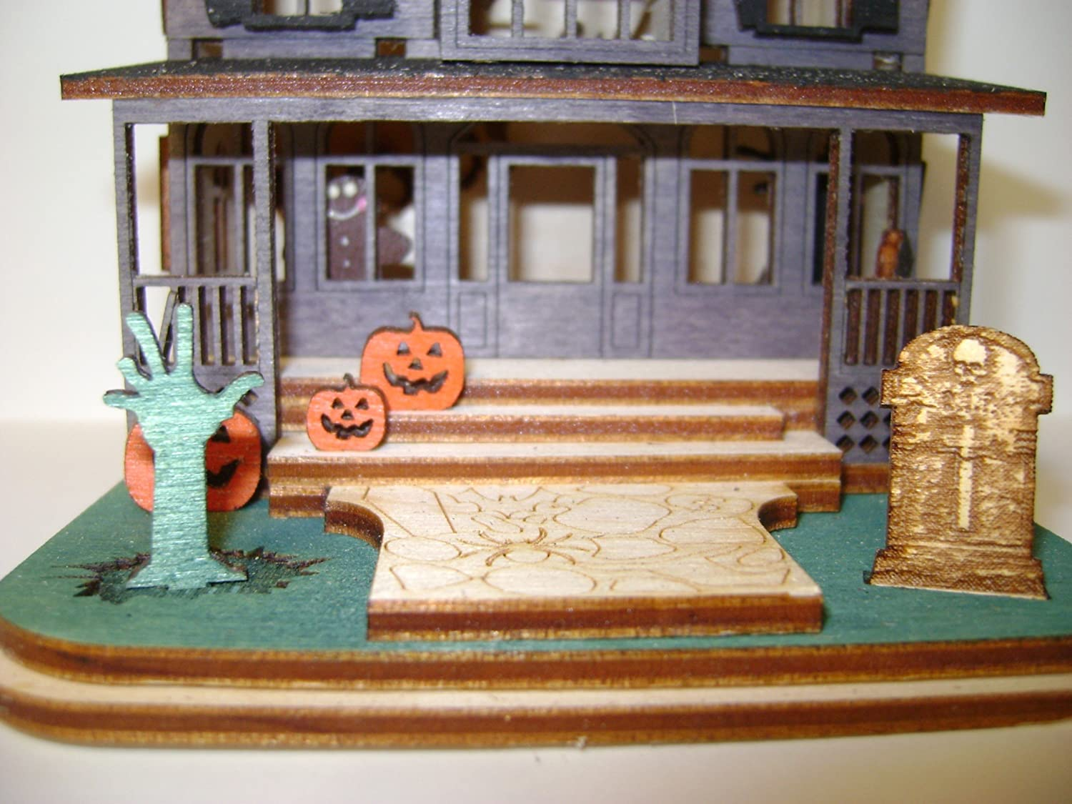 Haunted Funhouse GB102 TRC Designs Ginger Cottages