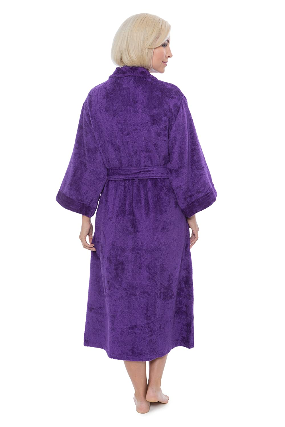 9e97a27206482 Women's Terry Cloth Bath Robe - Luxury Comfy Robes by Texere (Sitkimono) at Amazon  Women's Clothing store: