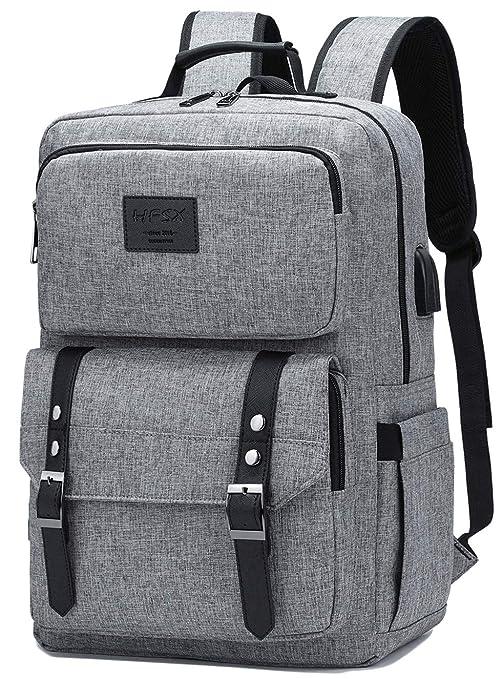 Laptop Backpack Women Men College Backpacks Bookbag Vintage Backpack Book Bag Fashion Back Pack Anti Theft Travel Backpacks With Charging Port Fit